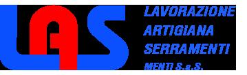 Las Menti Serramenti Mobile Retina Logo